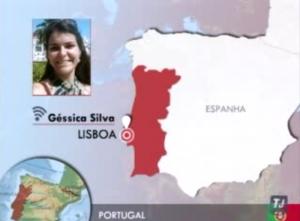 Géssica Silva em Portugal