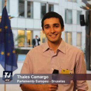 Thales Camargo em Bruxelas