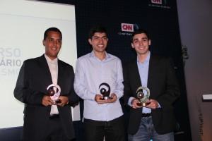 Fernando Borges, Paulo Pacheco, Thales Camargo