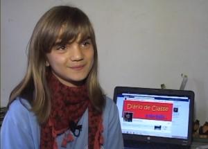 Isadora Faber, criadora do Diário da página Diário de Classe