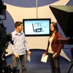 Mateus Boaventura e Francisca Nery apresentam o telejornal de sexta-feira