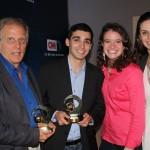 17 - Alunos ganham prêmio da CNN internacional -Antonio Brasil, Thales Camargo, Renata Bassani, e Simone Feldmann