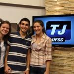 EUQIPE TJ UFSC - RENATA, THALES E NATÁLIA