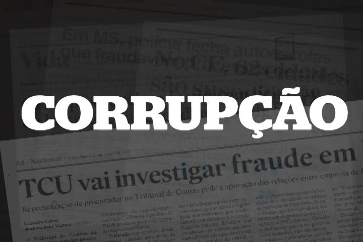 corrupção imagem