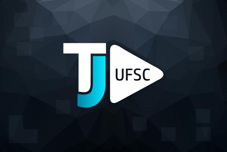 Nova identidade visual do TJ UFSC foi desenvolvida pela estudante Daniella Coriolano